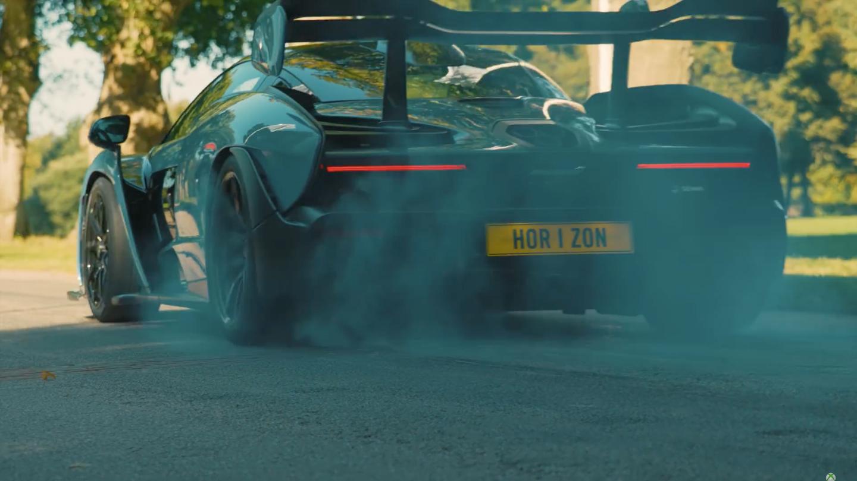 McLaren Senna Vs Motorcross